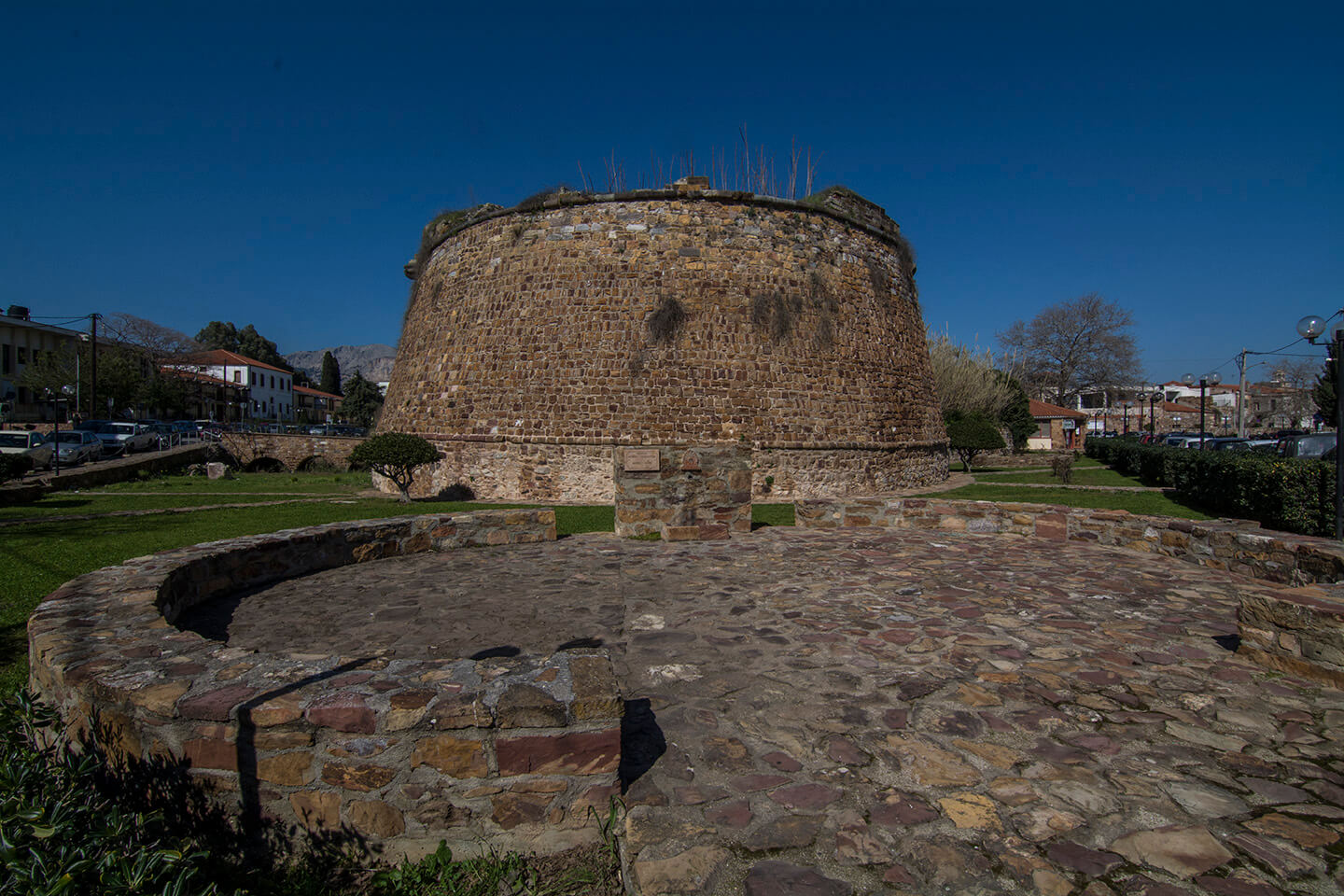 The castle of the Old City of Chios