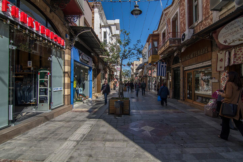 Chios Market Aplotaria street