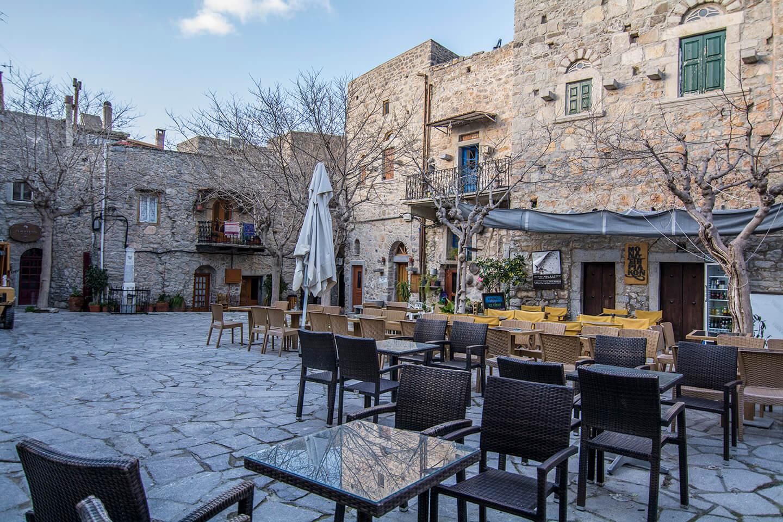 Mesta, a medieval village in south Chios