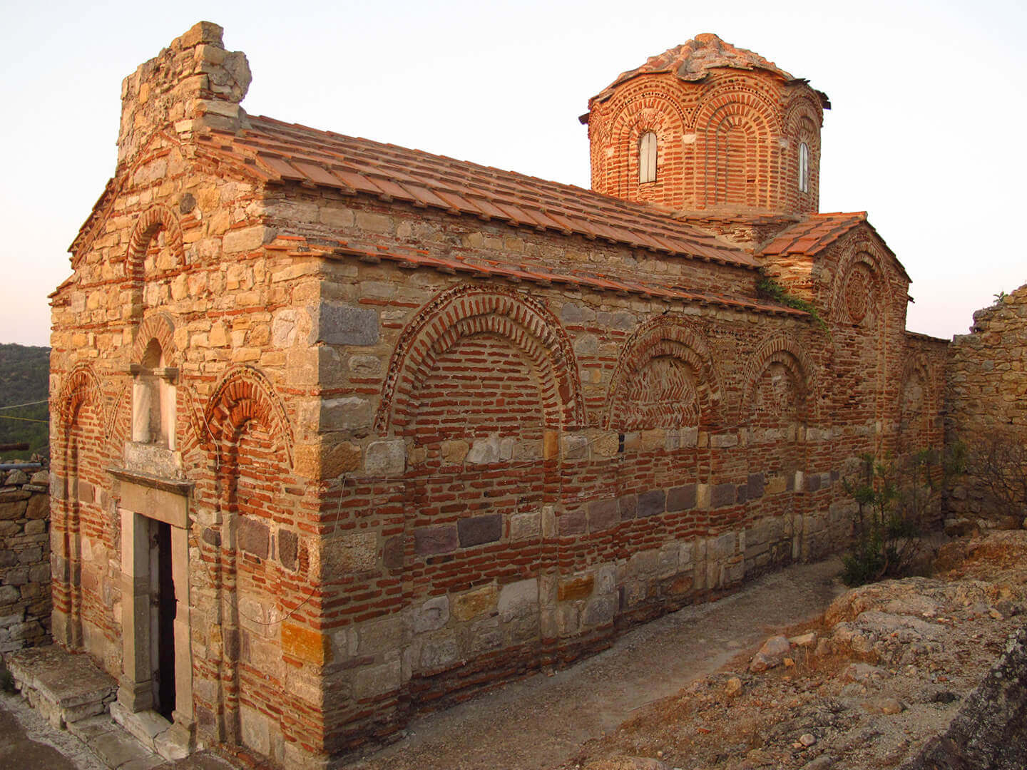 Panagia Sikelia church in Mesa Didima Vilage in South Chios