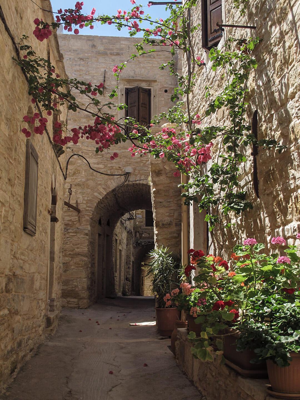 Patrika, a medieval village in south Chios