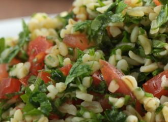 Taboule Salad with Chios Mastiha
