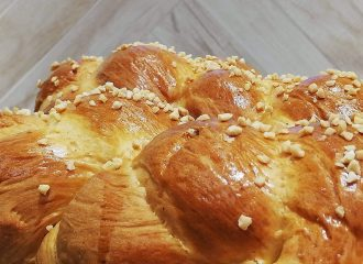 Chios Mastiha Recipes - Tsoureki with Chios Mastiha -