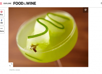 Food & Wine Why Mastiha Belongs on Your Bar Cart Now